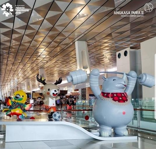 Bandara Angkasa Pura II Ikut Meriahkan Asia Games 2018 Articles Img UploadedBy SKP PST 06 07 2018 14 50 05