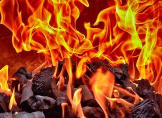 Kebakaran di kantor bandara Soekarno Hatta