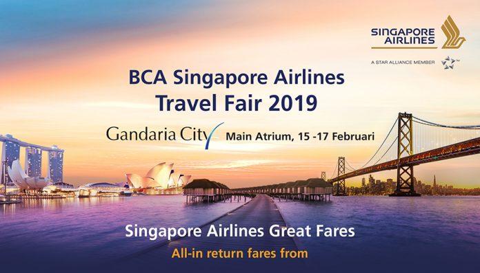 BCA Travel Fair 2019