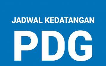 Jadwal Kedatangan Bandara Minangkabau, Kota Padang