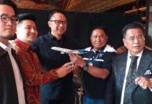 Garuda Indonesia Minta Rius Vernandes Ulas Semua Fasilitasnya