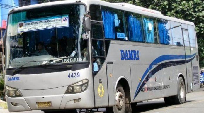 Damri Bandara Soekarno Hatta
